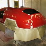 rear undercoating process